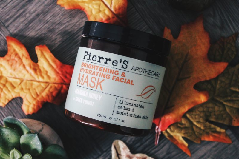 brightening and hydrating mask