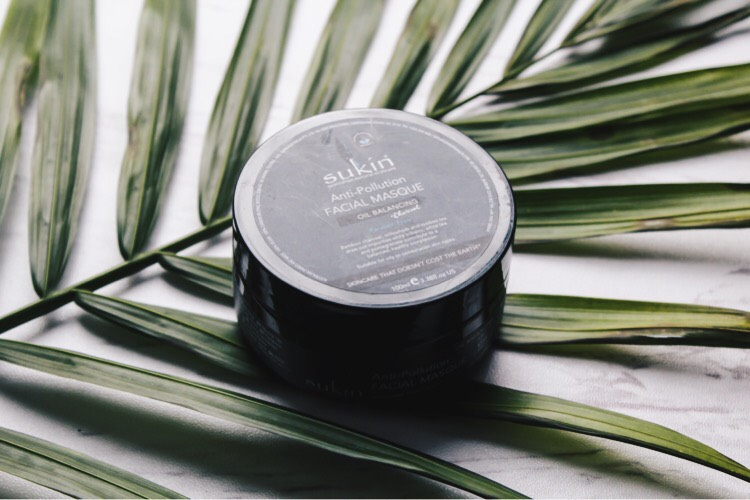 sukin anti pollution facial mask