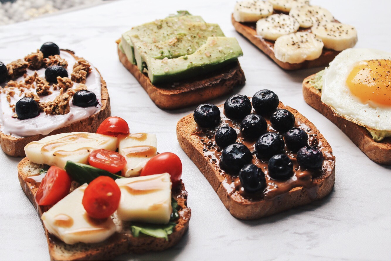 6 healthy toasts