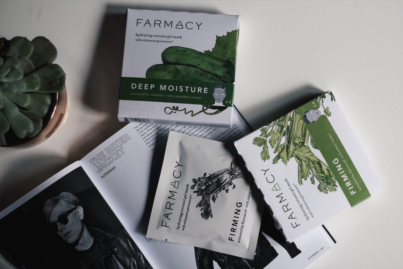 flaylay of farmacy sheet mask