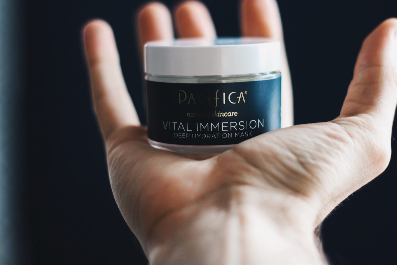 MASK MONDAY: PACIFICA VITAL IMMERSION DEEP HYDRATION MASK