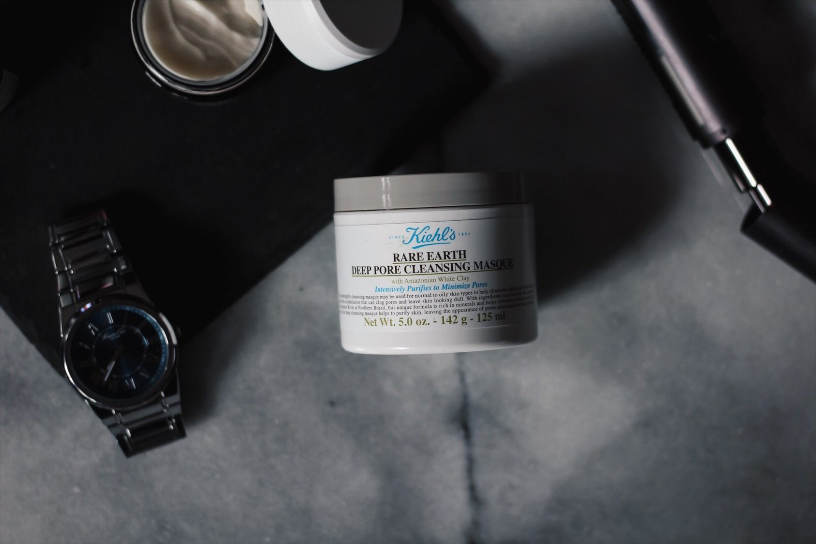 MASK MONDAY: KIEHL'S RARE EARTH DEEP PORE CLEANSING MASK