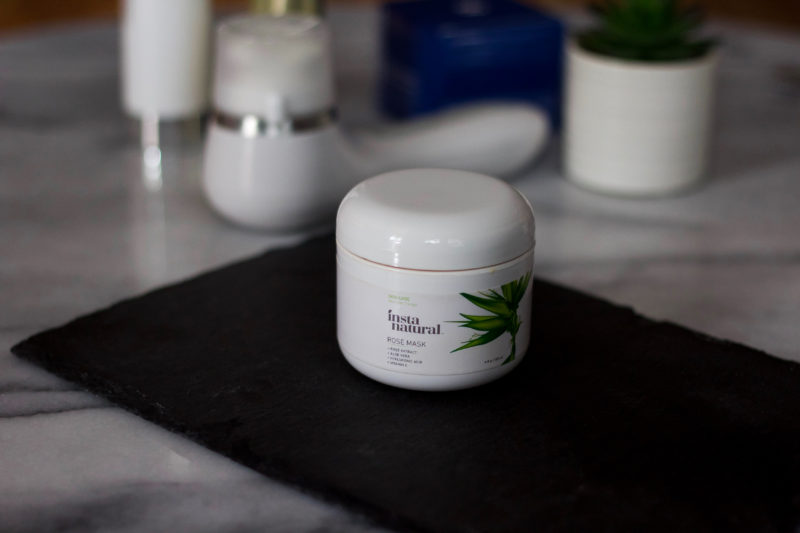MASK MONDAY: INSTANATURAL ROSE MASK