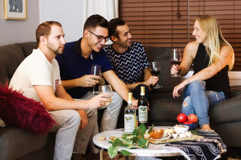 how to throw the perfect wine night