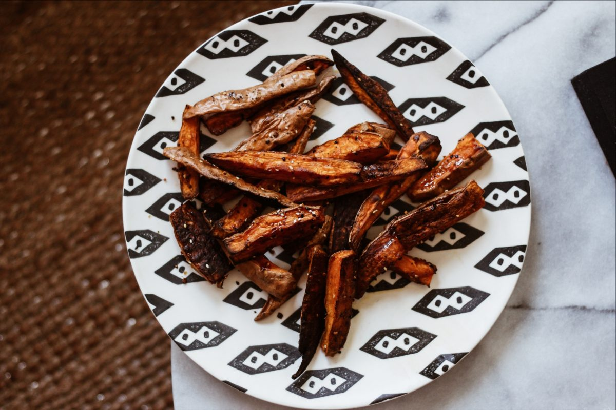 THE PERFECT SWEET POTATO WEDGES